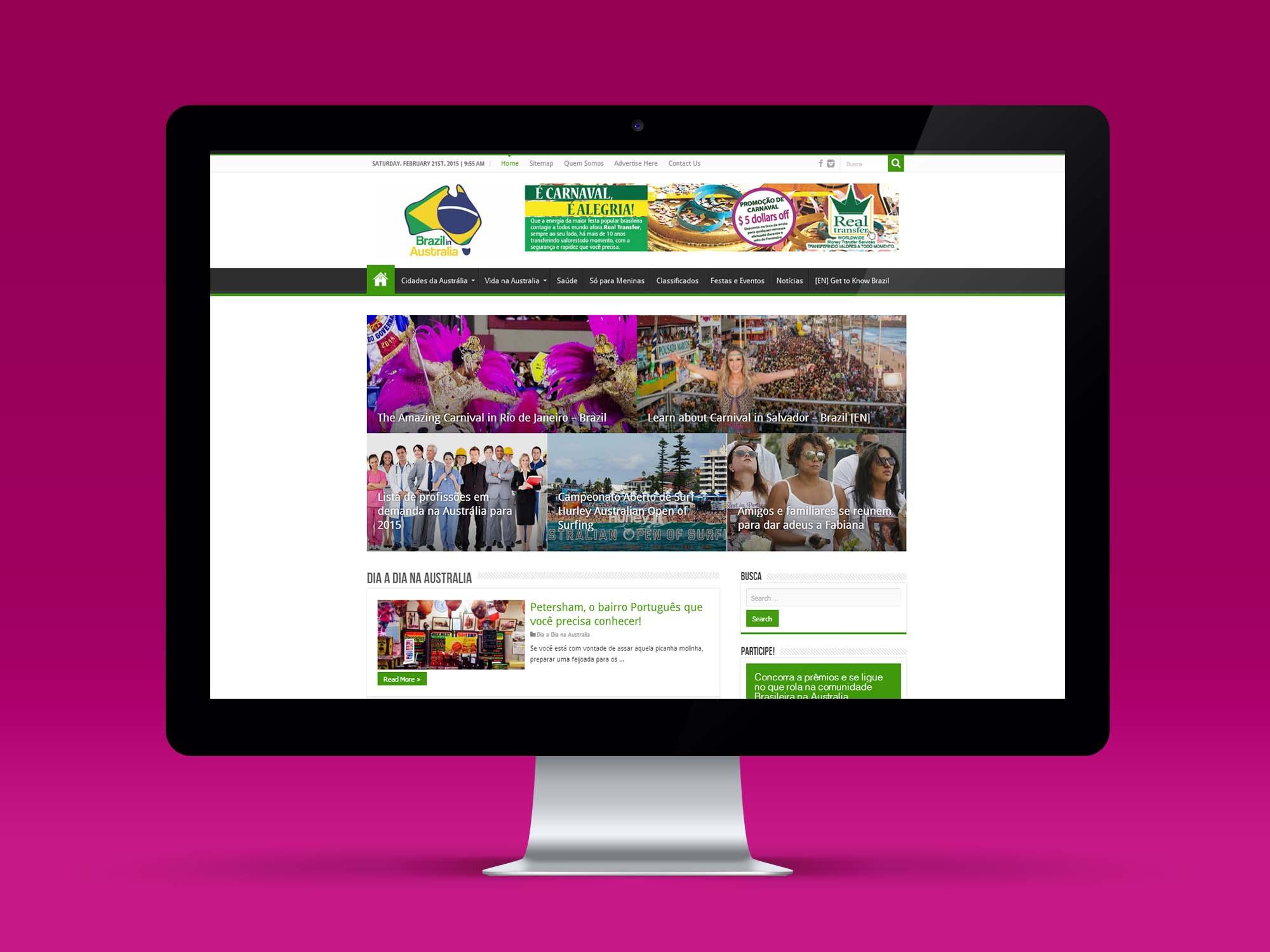 Brazil in Australia Portal