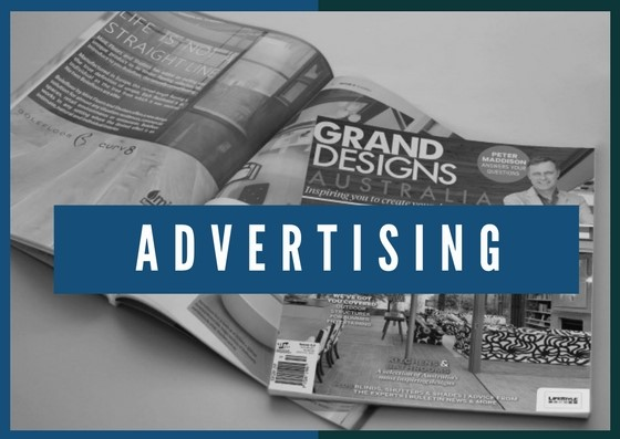 advertising print media